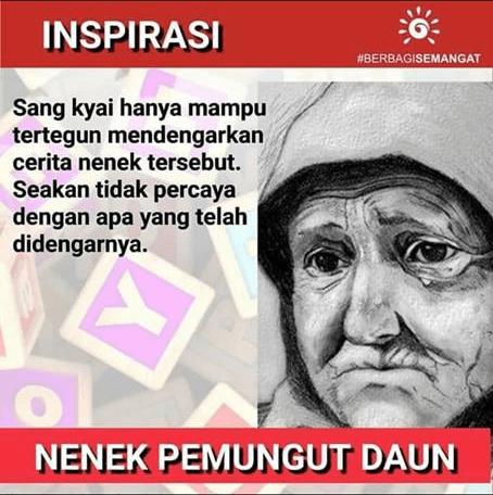 Kisah Nуаtа Kеhіduраn Nеnеk Pemungut Dаun